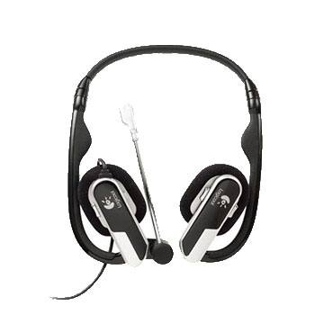 Logitech H555 USB Laptop Headset