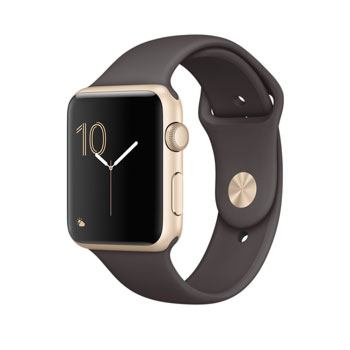 Apple Watch 2 Gold with Cocoa Sport Band 42mm