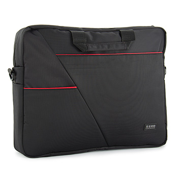 Exon Manhattan Black Laptop Bag