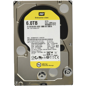 Western Digital Gold HDD 6TB WD6002FRYZ