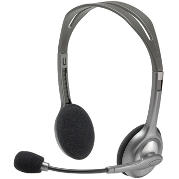Logitech H110 Stereo On Ear Headset