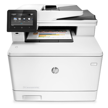 HP LaserJet Pro MFP M477fdw Printer