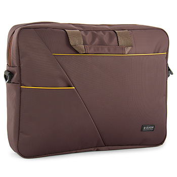 Exon Manhattan Brown Laptop Bag