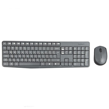 Logitech MK235 Keyboard and Mouse English