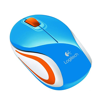 Logitech M187 Wireless Mouse Blue
