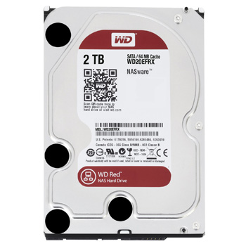 Western Digital Red HDD 2TB WD20EFRX