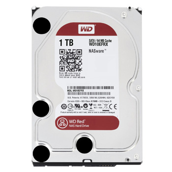 Western Digital Red HDD 1TB WD10EFRX