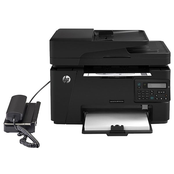 HP LaserJet Pro MFP M127fn Laser Printer With Phone