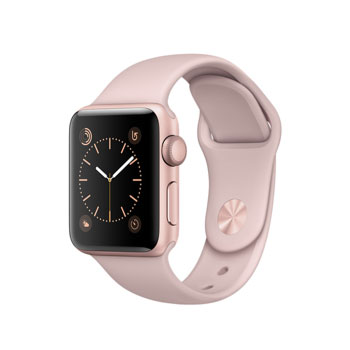 Apple Watch 2 Rose Gold with Pink Sand Sport Band 38mm