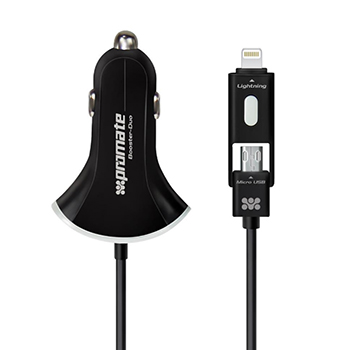 Promate Booster-Duo Car Charger