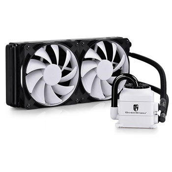 DeepCool Gamer Storm Captain 240 White Liquid Cpu Cooler