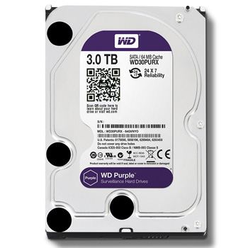 Western Digital Purple HDD 3TB WD30PURX