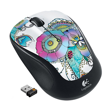 Logitech M325 Lady On The Lily Wireless Mouse