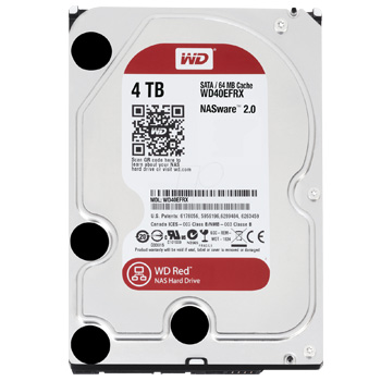 Western Digital Red HDD 4TB WD40EFRX