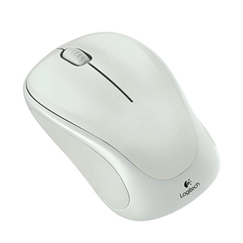 Logitech M317 Sensuous Silver Wireless Mouse
