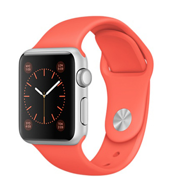 Apple Watch Sport Apricot Sport Band 38mm