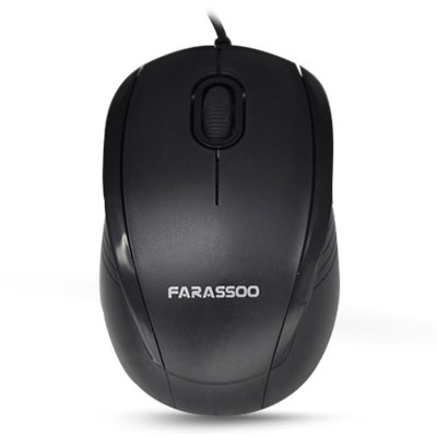 Farassoo Wired Optical Mouse FOM 1025