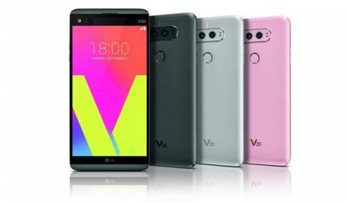 مشخصات فنی گوشی موبایل ال جی V20