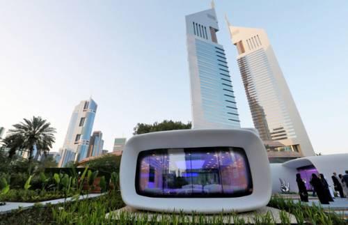 ساخت ساختمانی در دبی با استفاده از پرینتر سه بعدی