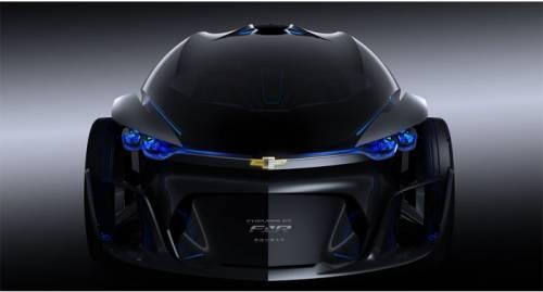 خودرویی در نمایشگاه شانگهای که از آینده به حال آ مده است..