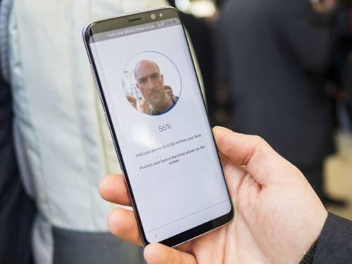 امنیت سیستم تشخیص چهره گلکسی اس 8 پایین است