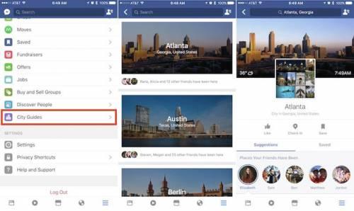 با استفاده از قابلیت جدید فیسبوک برای سفرهای خود برنامهریزی کنید