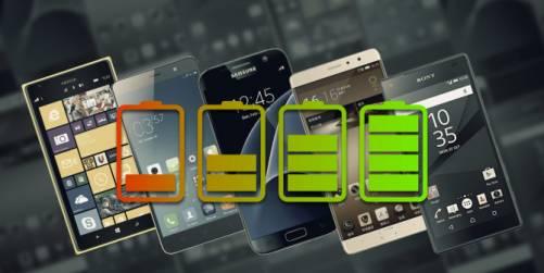 معرفی بهترین گوشی های 2016 از لحاظ میزان شارژدهی و عمر باتری