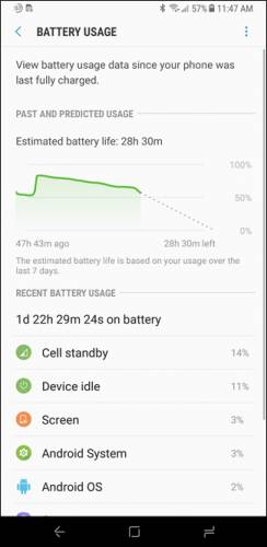 مصرف باتری