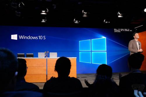 مایکروسافت Windows 10 S را رونمایی کرد