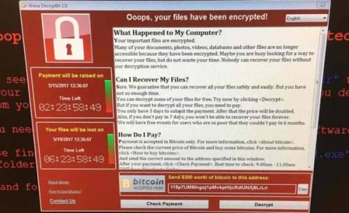 خطر باجافزار WannaCry را جدی بگیرید!