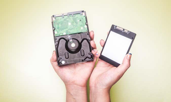 هارد دیسک و حافظه SSD