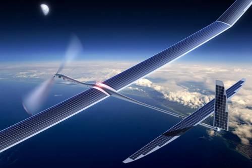اینترنت 5G، ارمغان پهپادهای خورشیدی گوگل
