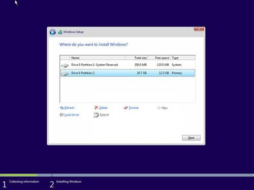 partition management