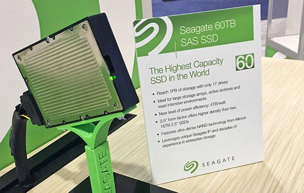 سیگیت از پرظرفیتترین حافظه SSD جهان رونمایی کرد