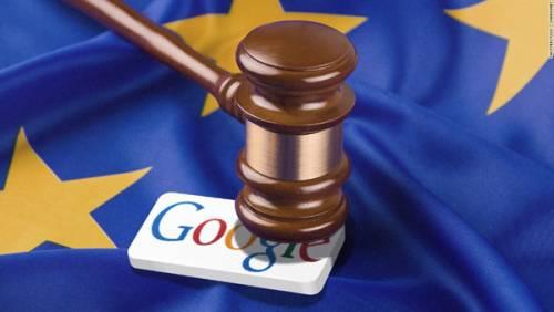 جریمه 2.7 میلیارد دلاری گوگل در اروپا