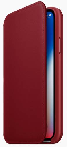 قاب موبایل اپل قرمز رنگ