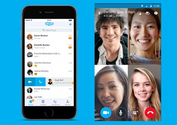 اسکایپ به تماس ویدئویی گروهی مجهز می شود!