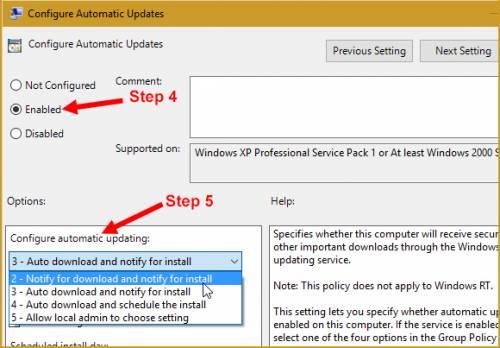 روش های جلوگیری از آپدیت اتوماتیک ویندوز 10