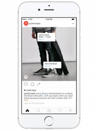 اینستاگرام قابلیت خرید اینترنتی را برای کاربران خود فراهم میکند