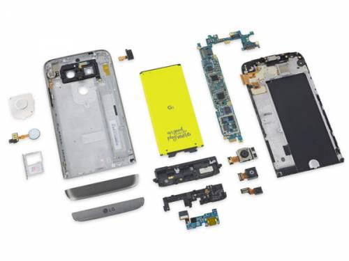 LG G5 تعمیر پذیرترین گوشی امسال شناخته شد