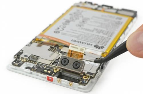 ifixit اعلام کرد تعمیر گوشی P9 هوای آسان است