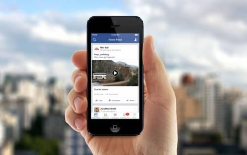 فیسبوک هر روز 8 میلیارد بار ویدئو پخش می کند