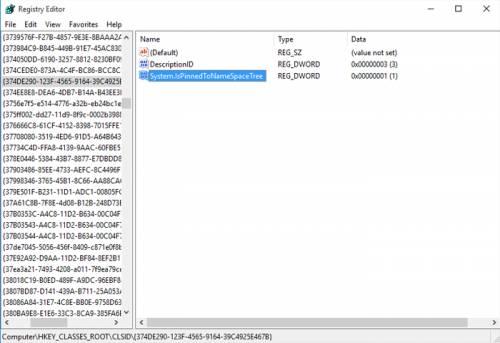 حذف آیکونهای اضافی سرویسهای ابری در ویندوز 10