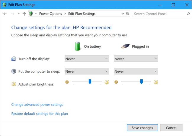 جلوگیری از خاموش شدن خودکار لپ تاپ