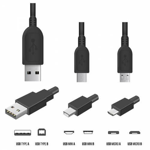 استانداردهای مختلف USB