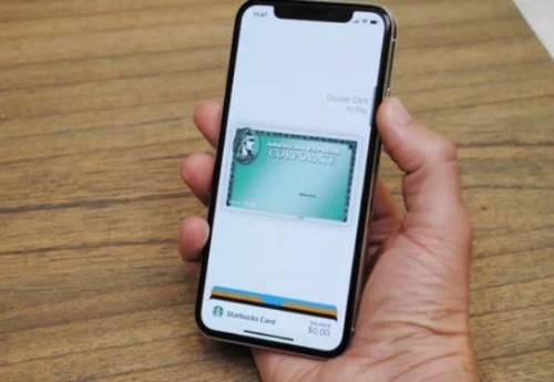 استفاده از اپل پی در آیفون ایکس