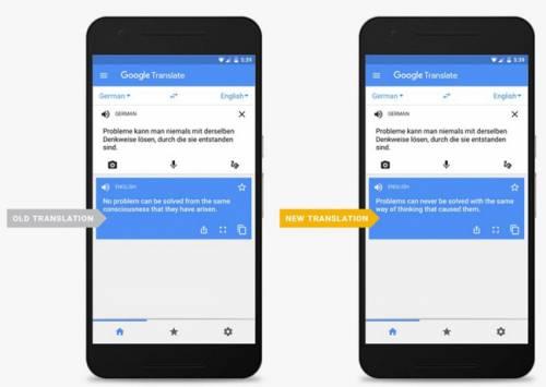 بهبود ترجمههای Google Translate به لطف فناوری جدید