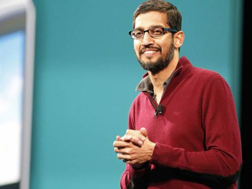 پاداش 199 میلیون دلاری برای مدیرعامل گوگل