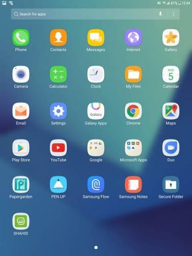 بخش Apps